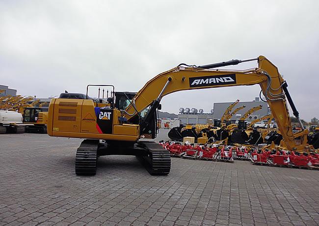 Baumaschinenbeschriftung Werbung in Bremen